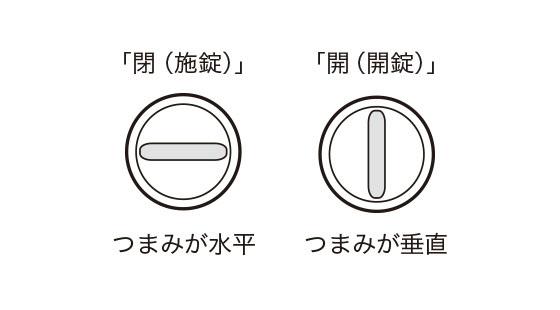 鍵 開閉状況センサー 01 設置条件