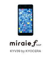 miraie f KYV39