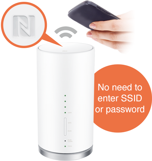 No need to enter SSID or password image