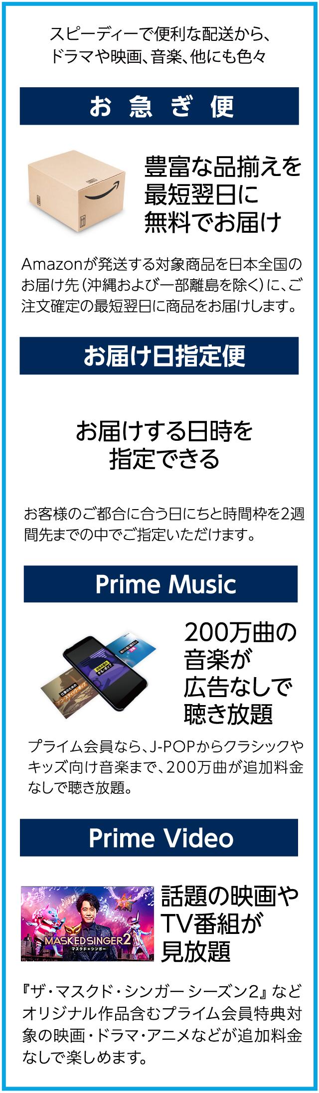 アマゾン プライム 料金