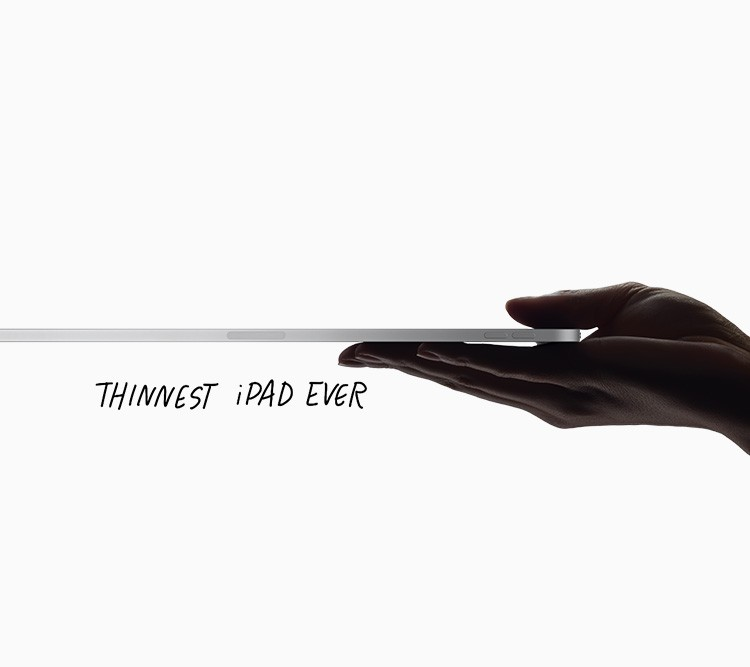 THINNEST iPAD EVER