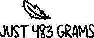 JUST 483 GRAMS
