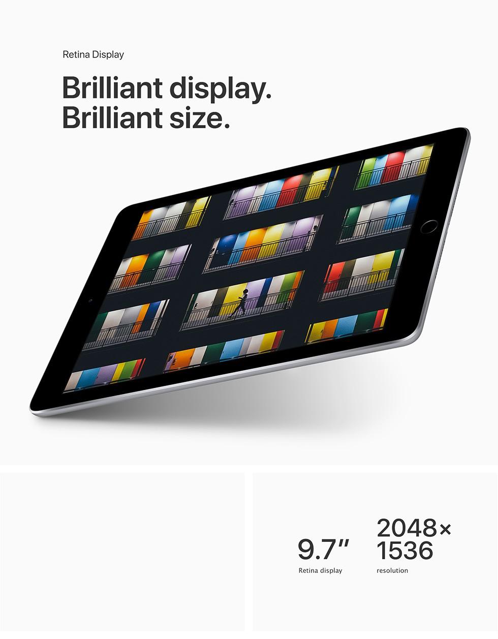 Retina Display Brilliant display. Brilliant size.