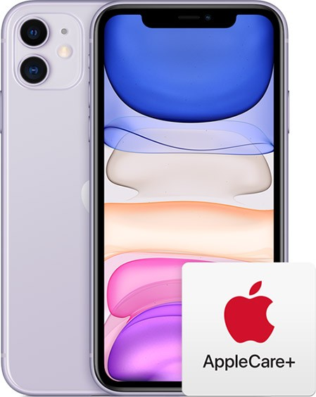 iPhone 11 AppleCare+ One-stop support from Apple experts.