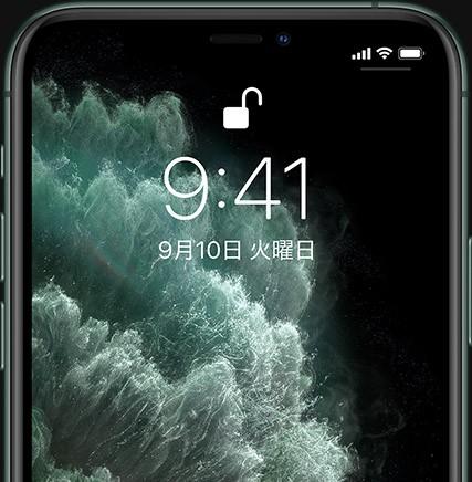 iPhone 11 Pro プライバシー プライバシー機能を内蔵。