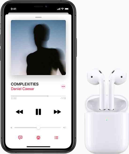 iPhone 11 AirPods ワイヤレスとは、こういうこと。