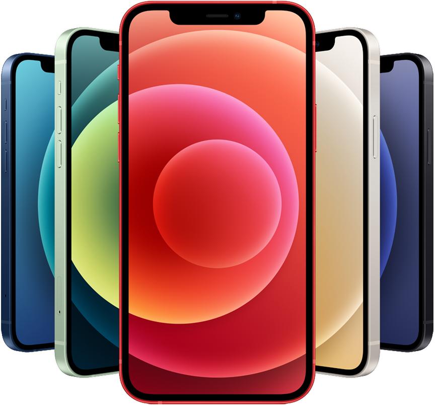 iPhone 12の正面画像
