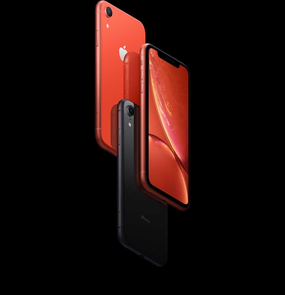 iPhone XR(テン アール)のアルミニウム製フレーム。