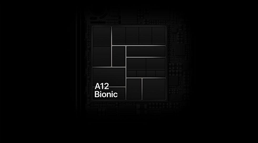 iPhone XR(テン アール)のA12 Bionic。