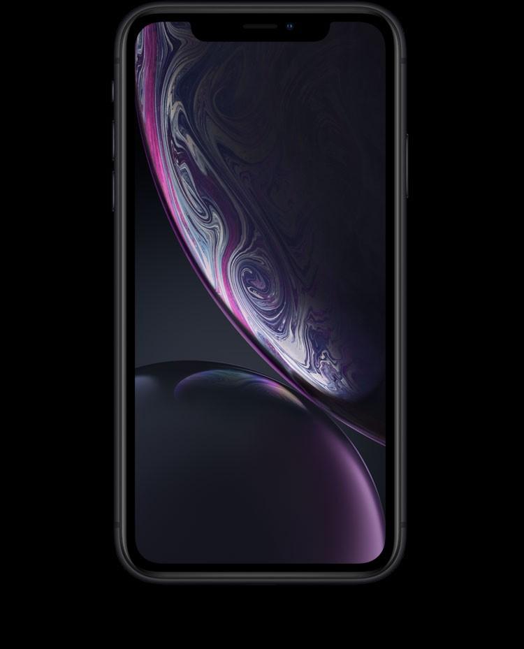 iPhone XR(テン アール)の6.1インチディスプレイ。iPhone史上最大のLCD、業界で最も正確な色広色域、True Tone、タップしてスリープ解除。