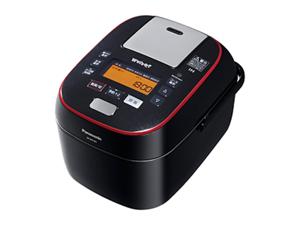 【C賞】パナソニック スチーム&可変圧力IHジャー炊飯器 「Wおどり炊き」(5.5合) SR-SPA107-K