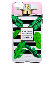 IPHORIA Perfume Case Black and White Flacon for iPhone 7