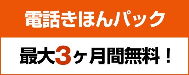 月額利用料315円が最大3ヶ月間無料!