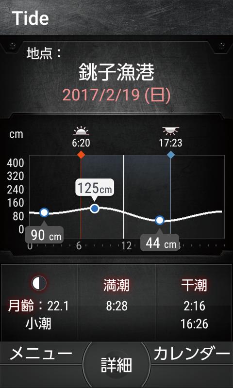 OUTDOOR PORTAL 潮汐(イメージ図)