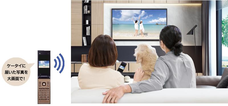テレビde写真イメージ画像