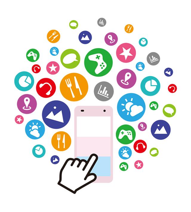 イメージ:人気のコンテンツや学習アプリが使い放題。うれしい特典やデータお預かりなどもご利用いただけます。