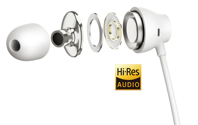 Japan's first smartphone to include Hi-Res earphones