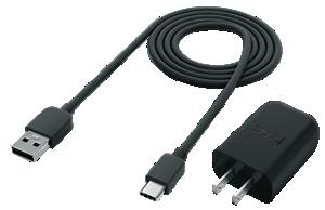急速充電Quick Charge™3.0対応専用充電器+Type-C対応ケーブル同梱画像