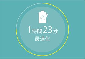 バッテリー消費を最適化イメージ画像