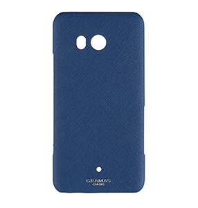 GRAMAS COLORS EURO Passione Shell Leather Case Navyの画像