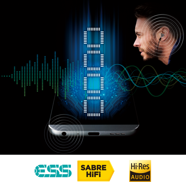 Featuring the latest, highest-performance audio technology