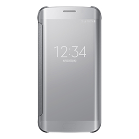Galaxy S6 edge CLEAR VIEW COVER/SILVER
