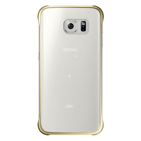 Galaxy S6 edge CLEAR COVER/GOLD