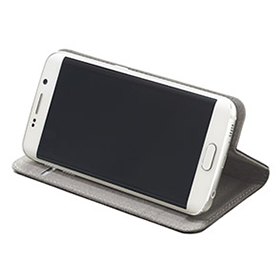 Galaxy S6 edge ブックタイプケース/Disney pass Sketch-Black