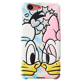 AQUOS SERIE SHV34 ハードカバー/Disney pass Donald&DaisyFace