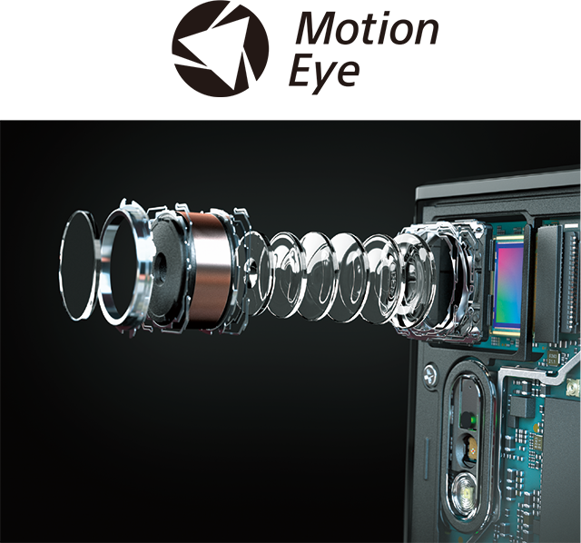 New Motion Eye™ camera system