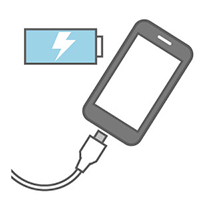 充電器無料貸出サービス